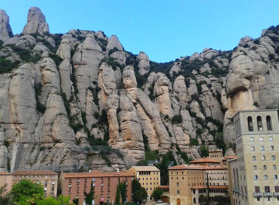 Montserrat Monastery in Barcelona, Catalunya, Spain