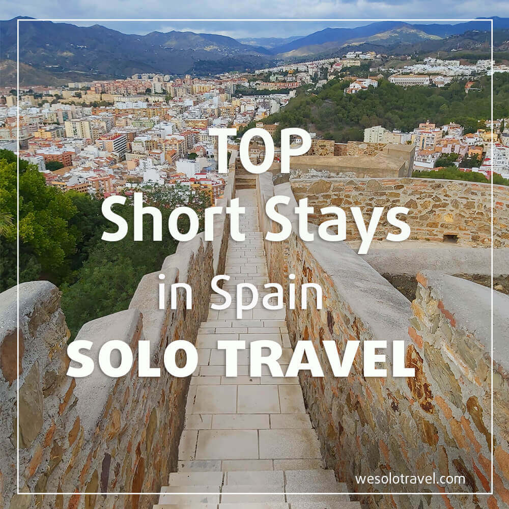 Top Short stays in Spain for solo travel