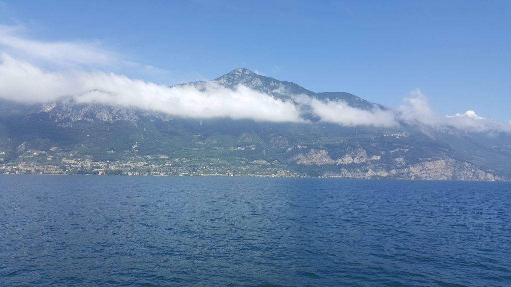 The best views from Lake Garda are from a ferry