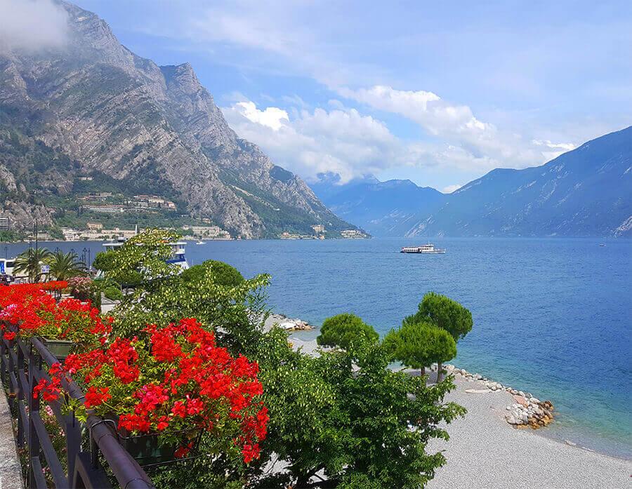 Beautiful village of Limone - Lago di Garda