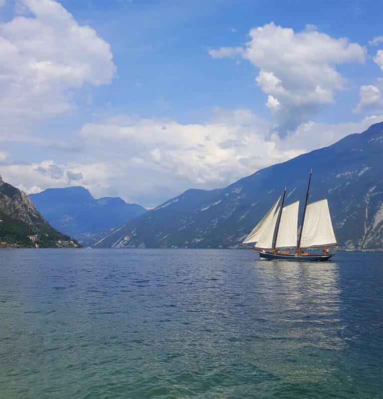 Lake Garda - Ferry view