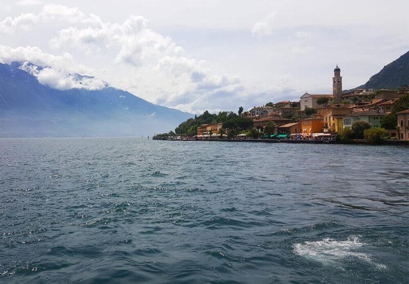 A view to Malcesine in Lago di Garda