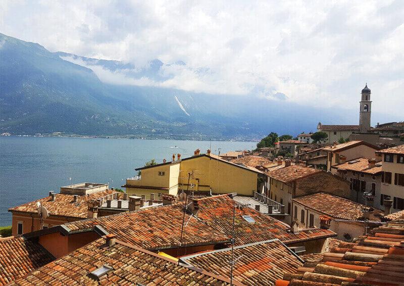 The village of Limone in Lago Di Garda