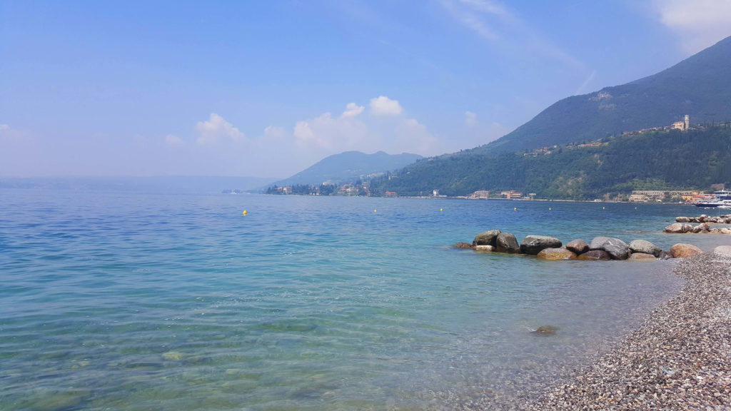 Beaches in Toscolano Maderno