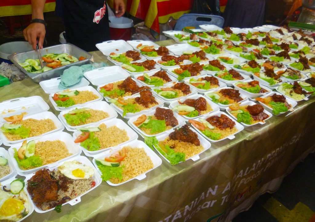 Nasi Lemak - Malaysian Traditional Food