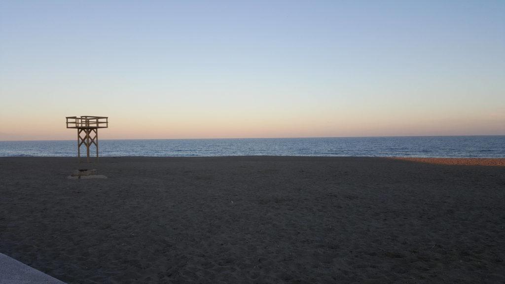 Levante Beach in La Linea