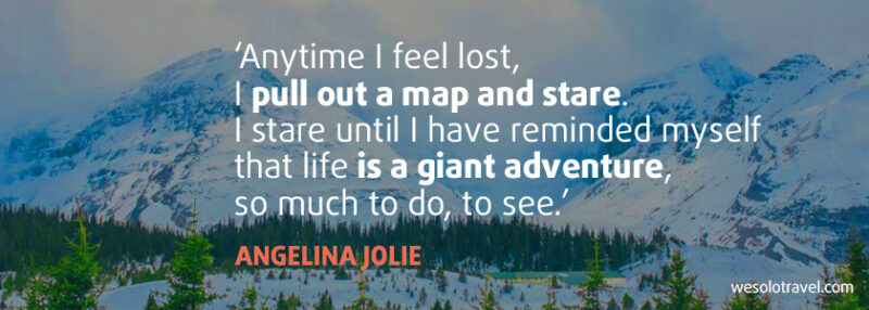 Travel alone quotes - quotes about adventure