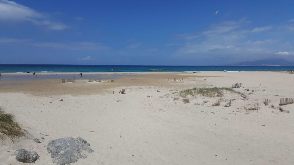 Los Lances Beach in Tarifa - the best places to visit in Andalucia