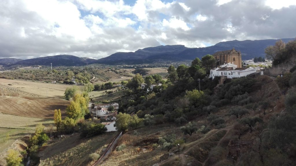 murallas of Ronda offer incredible views
