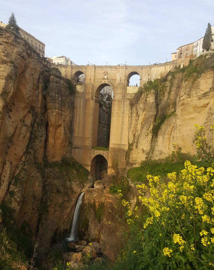 Ronda Spain Image of Puente Nuevo Bridge