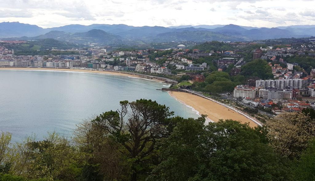 Amazing views from Monte Igueldo San Sebastian