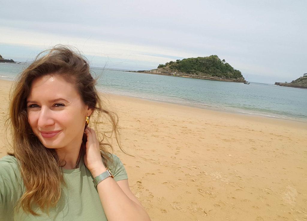 San Sebastian Solo Travel Ondaretta Beach