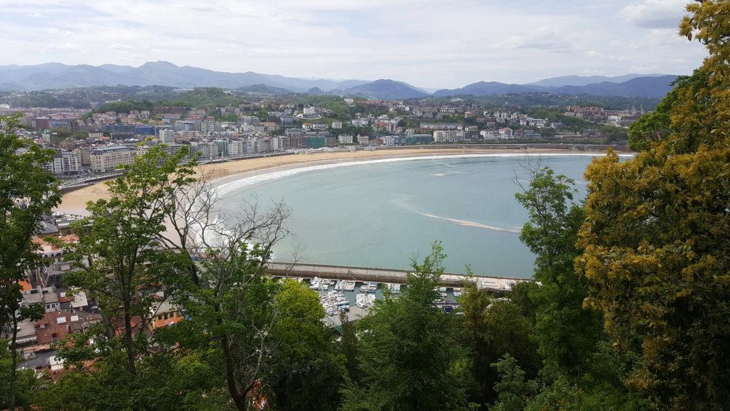 Solo Travel: San Sebastian photos, view of Concha