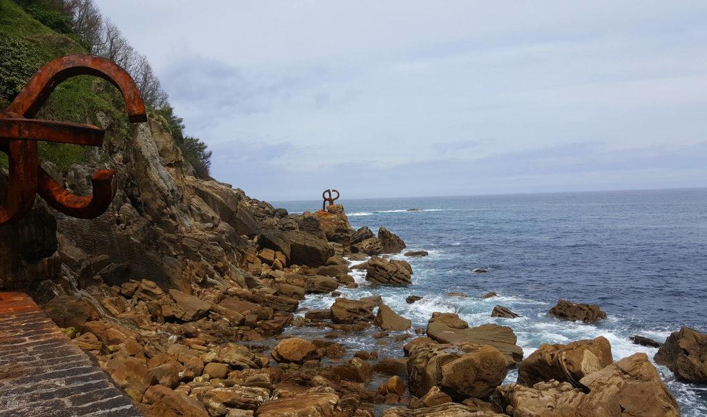 San Sebastian photos - piene del viento