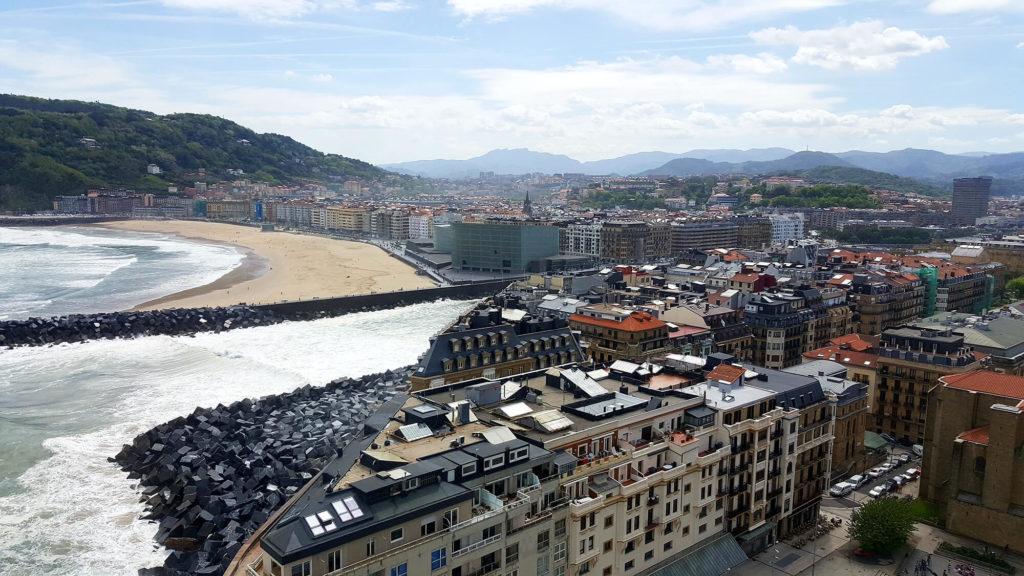 San Sebastian solo trip pictures: view