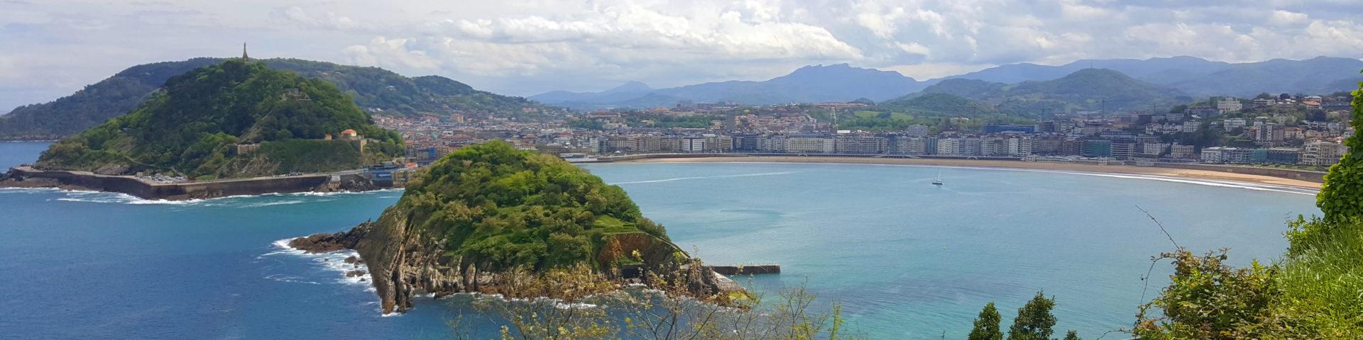 San Sebastian photo - view from solo climb to monte Igueldo