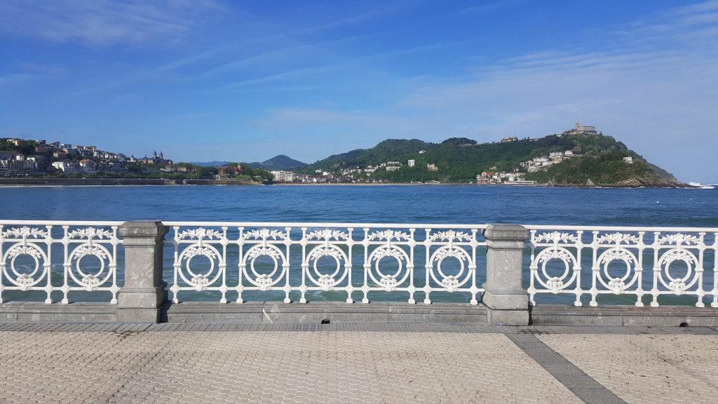 San Sebastian promenade - solo trip