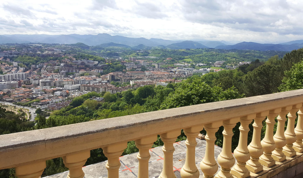 San Sebastian photos - view from Monte Igueldo