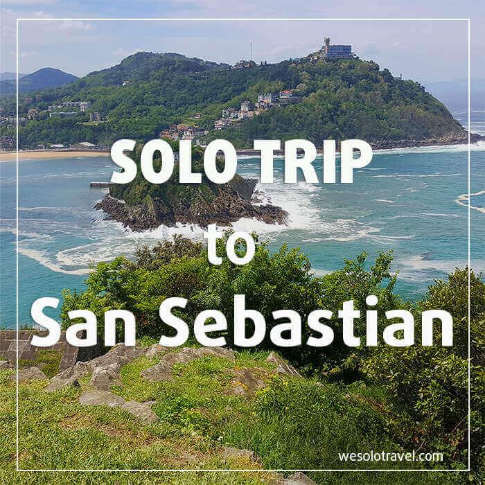 Solo Trip San Sebastian