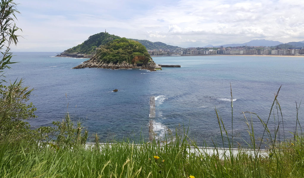 San Sebastian Solo Travel - Walking down the Monte Igueldo