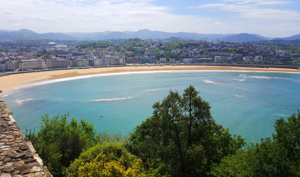 Best beaches San Sebastian - La Concha