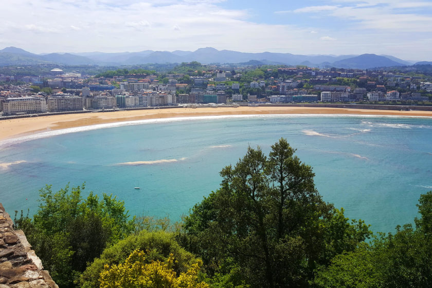 San Sebastian - a view from Monte Igueldo