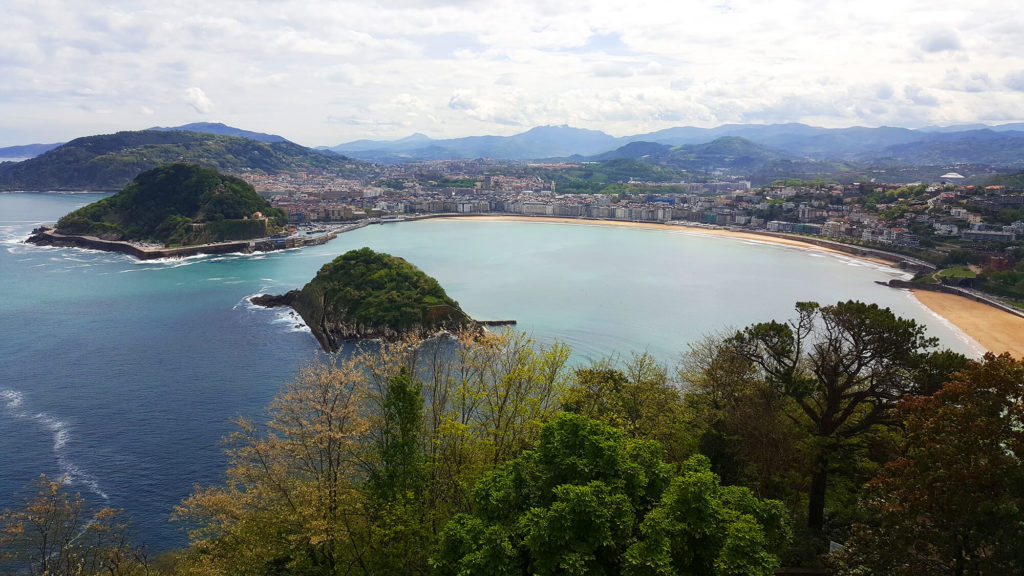 San Sebastian - best beaches view from Igueldo