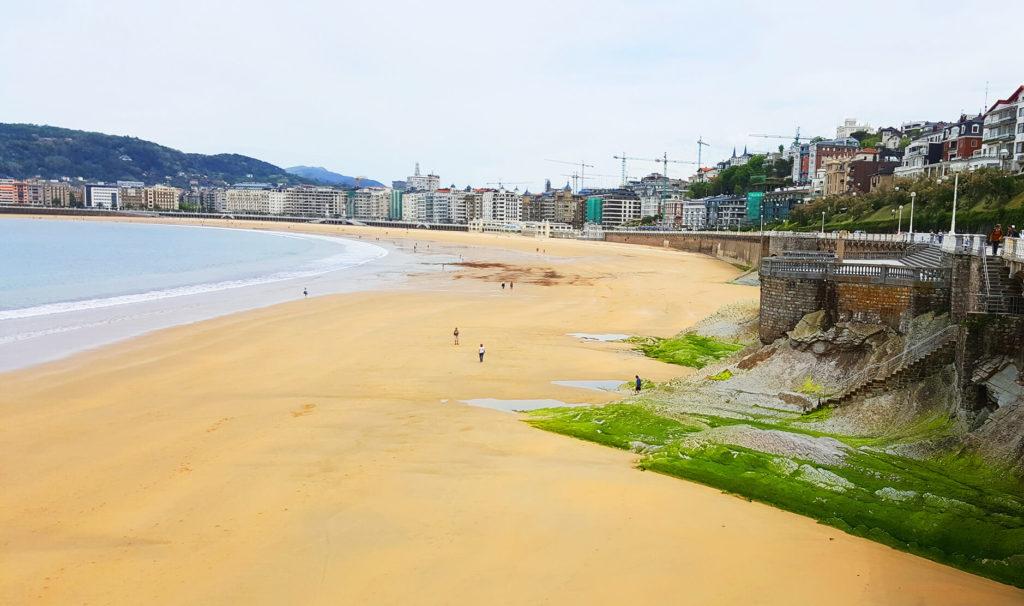 La Kontxa - beach in San Sebastian