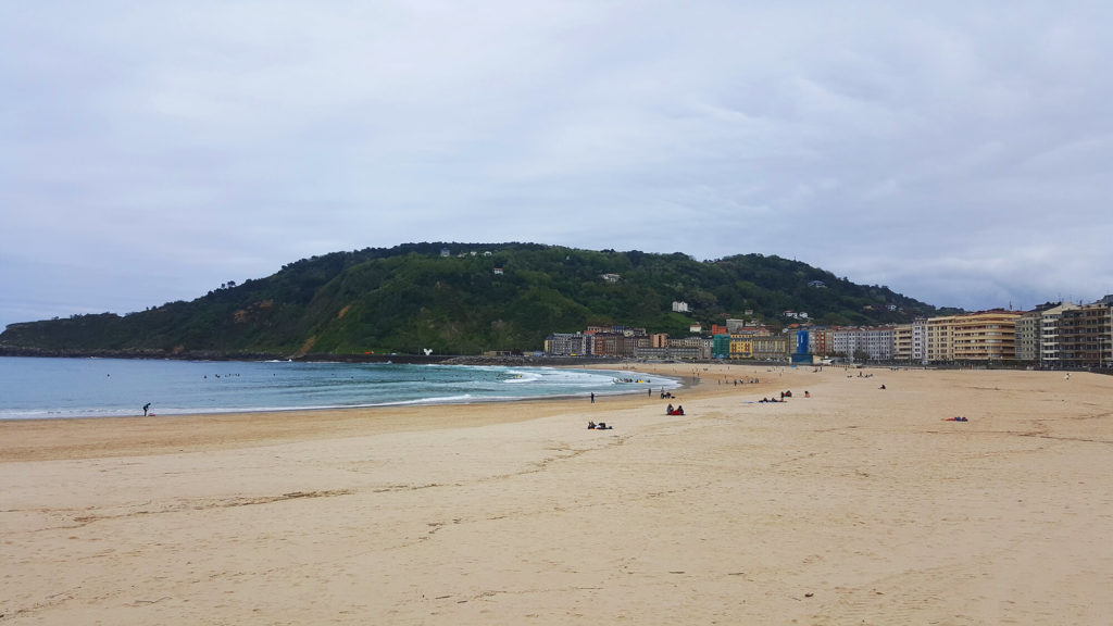 Best Beaches San Sebastian - Zurriola beach