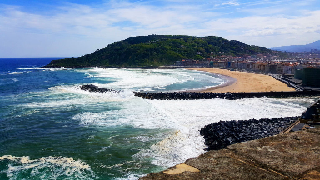 San Sebastian best beaches - Zurriola