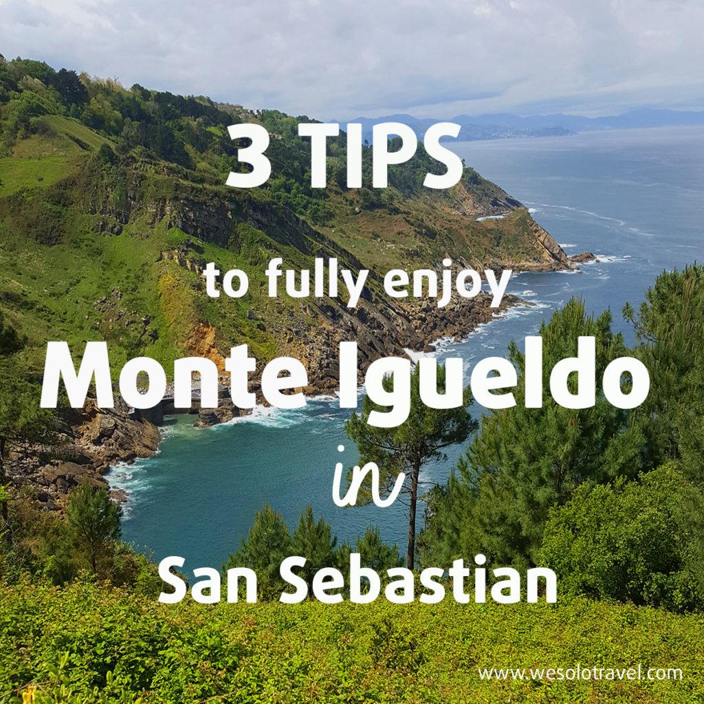 Tips to enjoy Monte Igueldo in San SEbastian