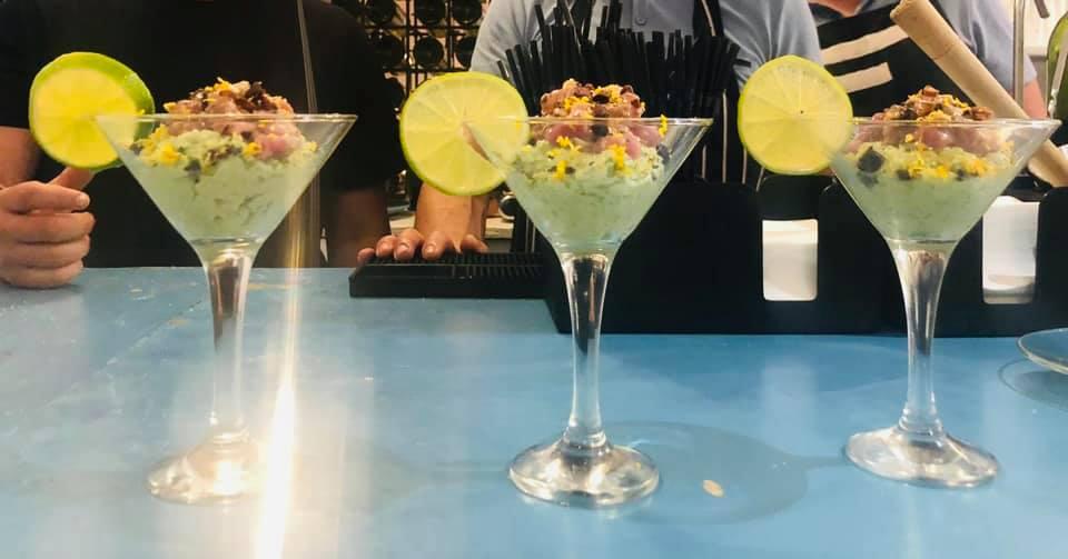 Spanish tapas dishes - modern tapas - tuna martin