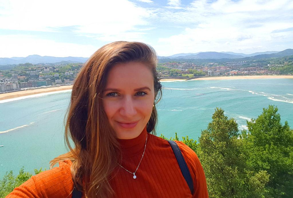 Mont Urgull - selfie & view