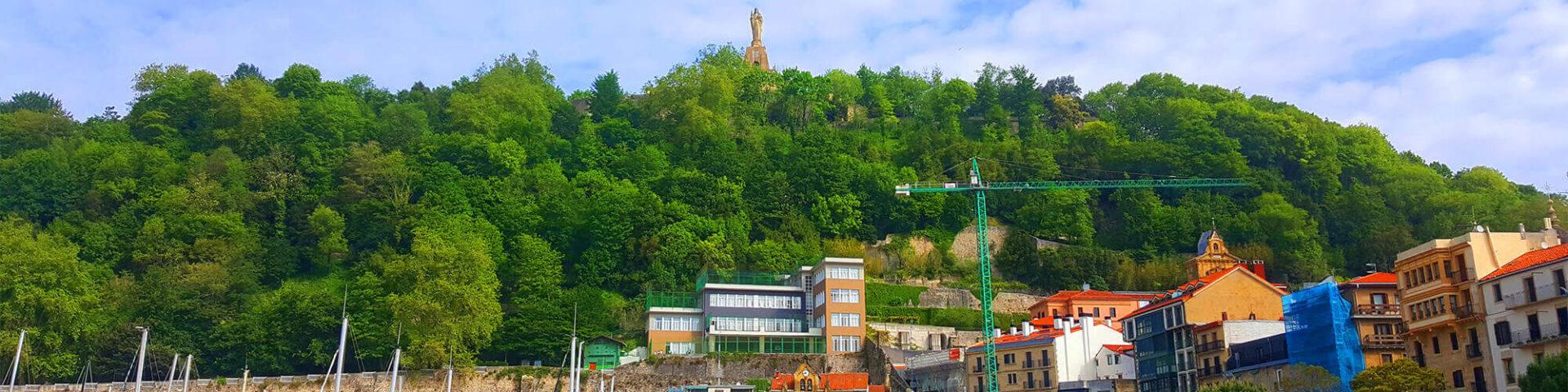 Monte Urgull & Jesus Christ Statue