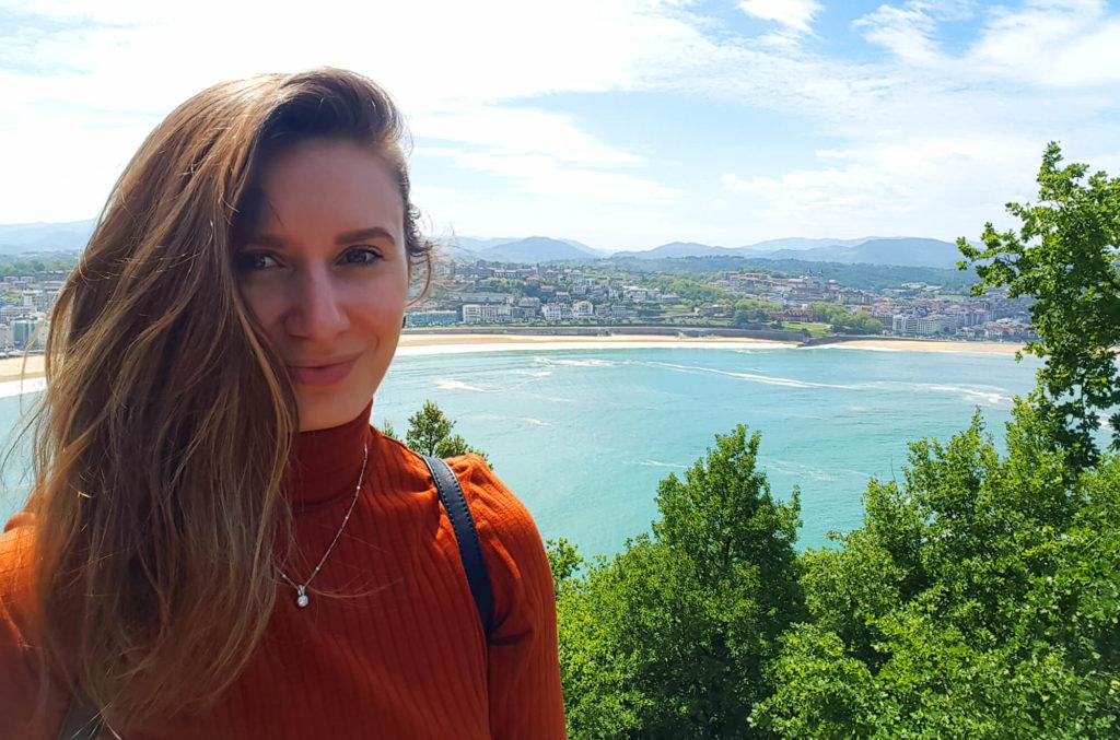 Monte Urgull View Selfie