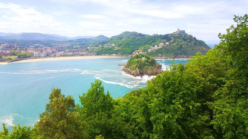 Monte Urgull San SEbastian - views