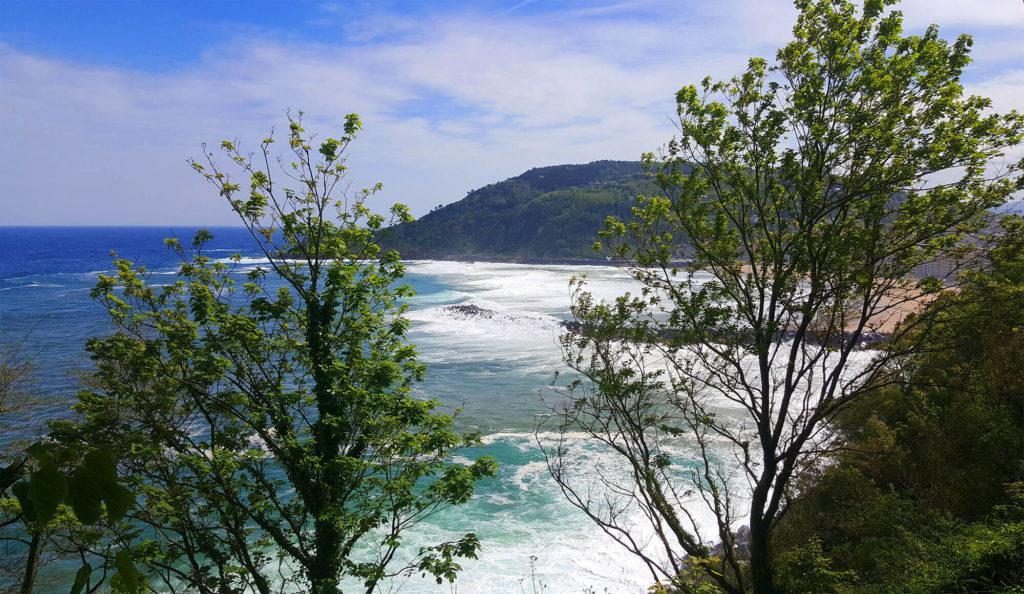 Secret views from Mount Urgull