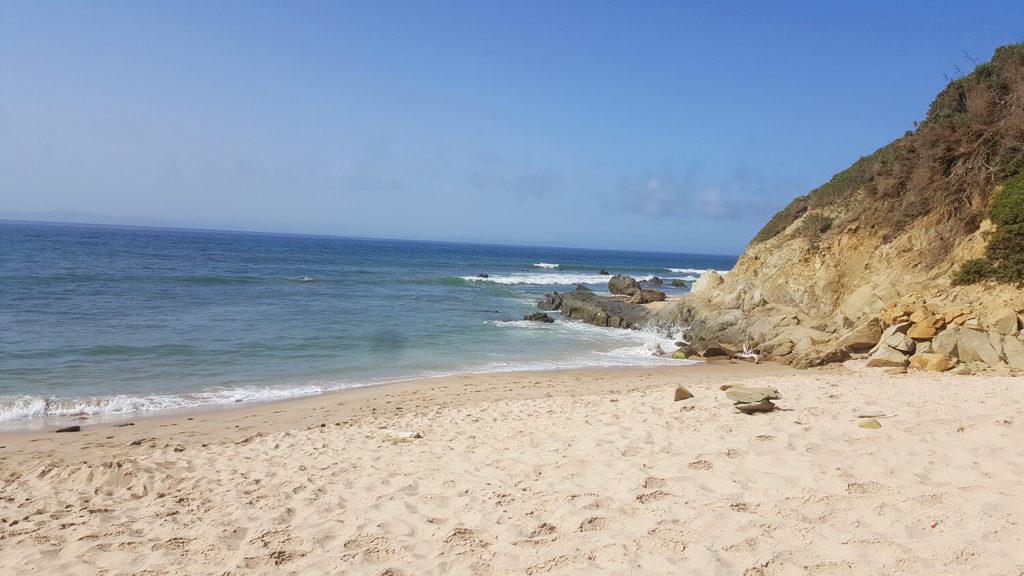 Punta paloma beach has amazingly fine golden sands