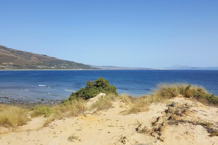 Punta Paloma Beach Tarifa - one of the nicest beaches in spain