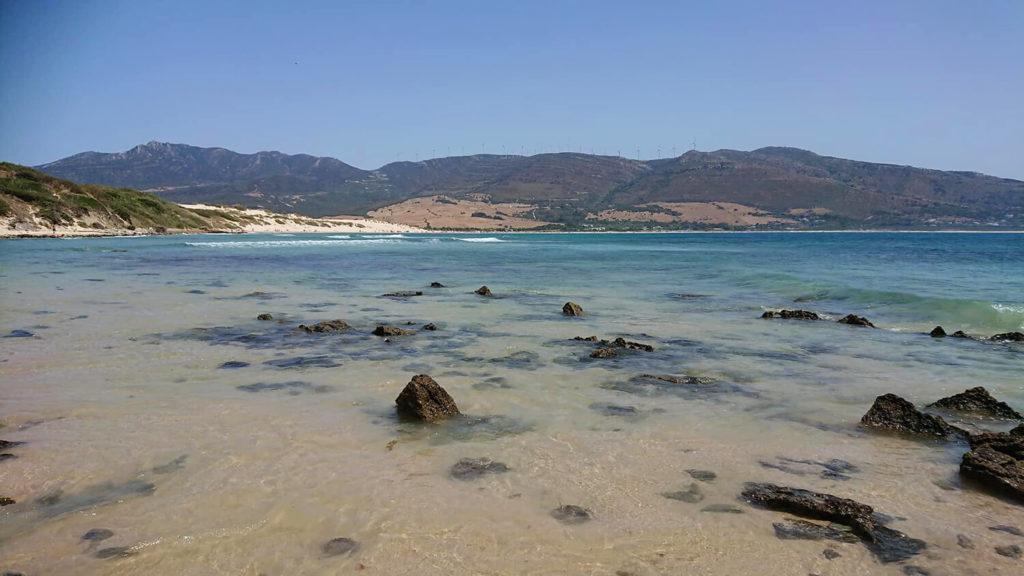 Punta Paloma - turquoise waters