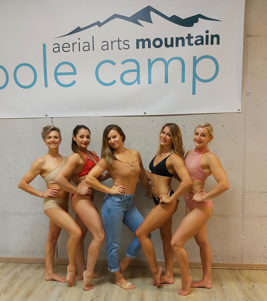 Pole Stars of August Mountain Pole Camp 2019