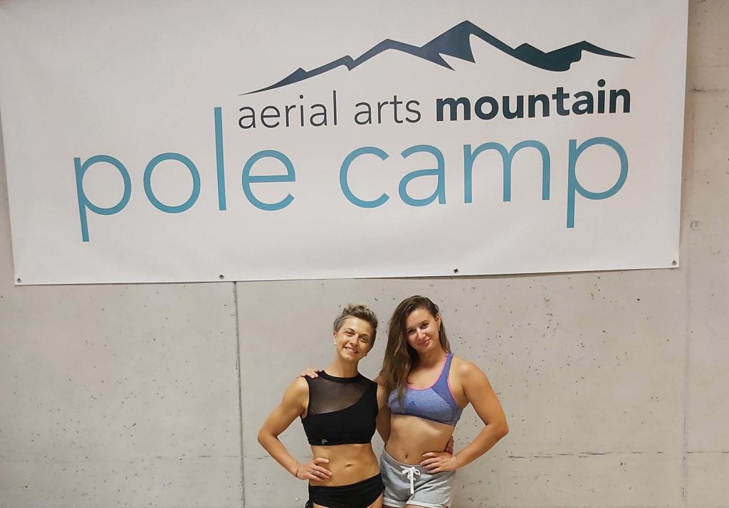 Mountain Pole Camp Agust 2019 - me & Heidi Coker
