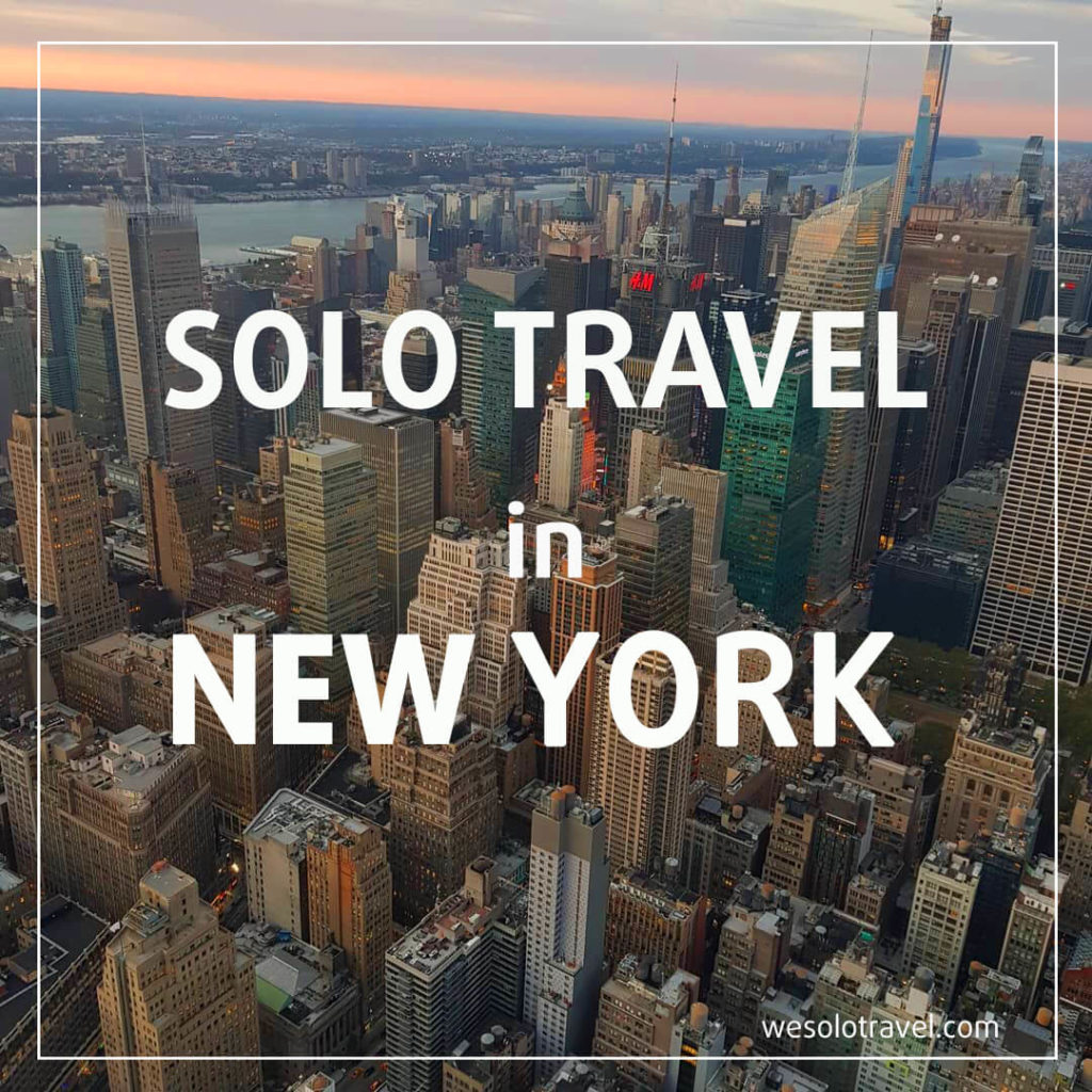 Solo travel in New York, wesolotravel.com