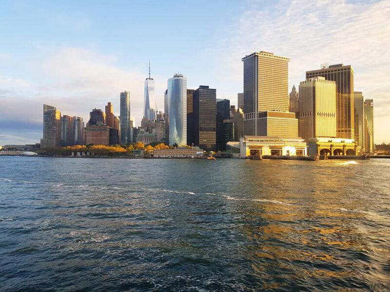 A view to Manhattan