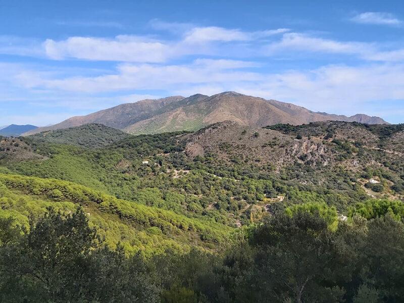 Sierra Bermeja, taken from Sierra Crestellina, casares, Spain