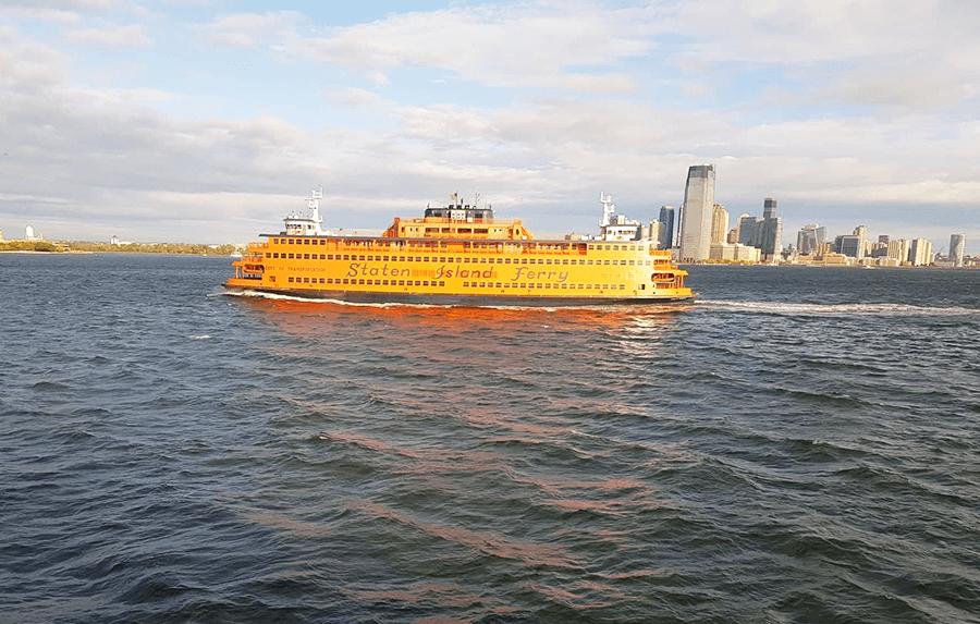 Staten Island Ferry. New York City