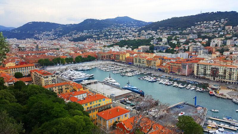 Port in Nice France