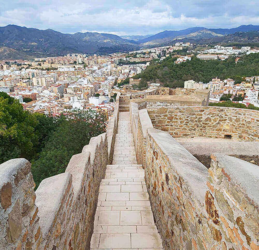 Castillo Gibralfaro in Malaga