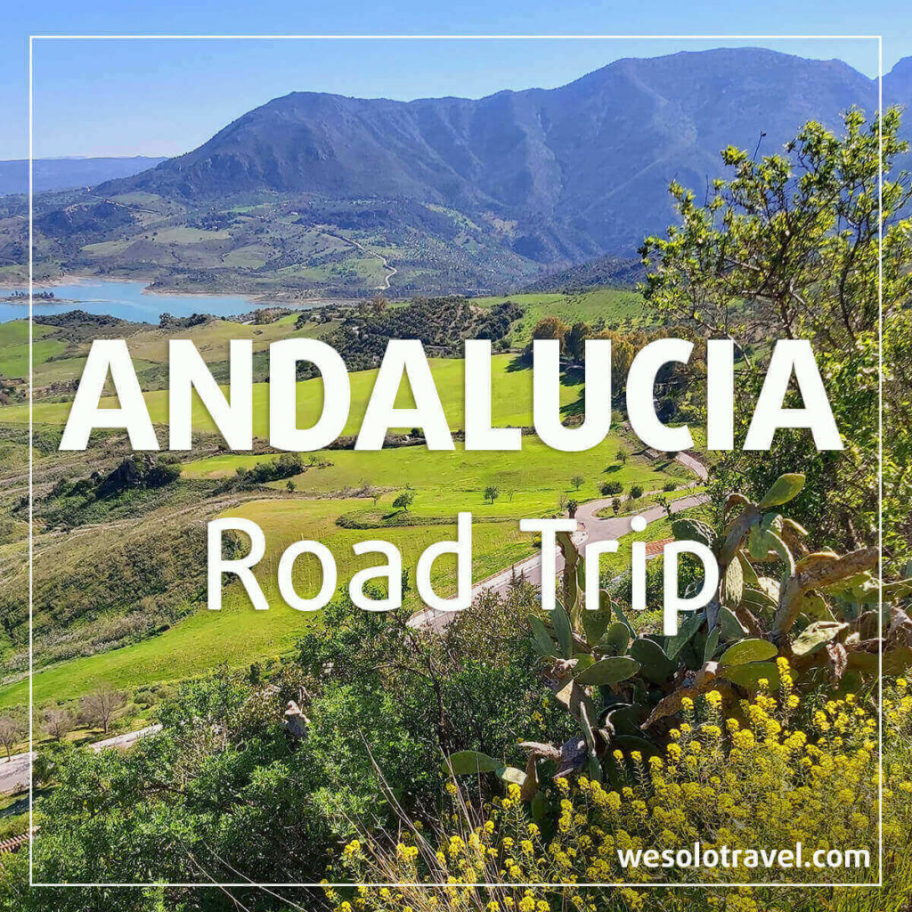 Andalusian countryside: from article about Andalucia roadtrip by wesolotravel
