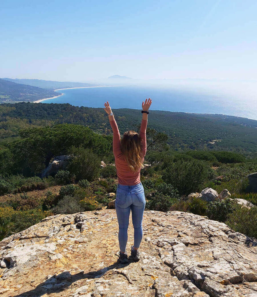 Views from El Chaparral, hiking area in Tarifa